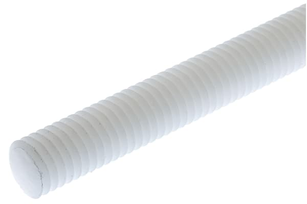 Product image for ISO metric nylon 6.6 studding,M8x1m