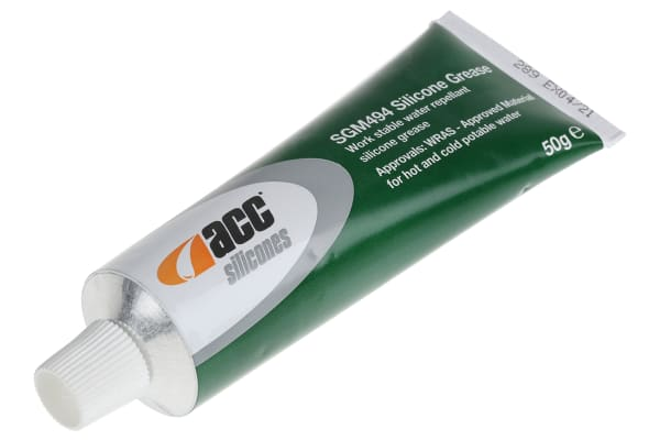 Product image for Acc Silicones Silicone Grease 50 g SGM494 Tube