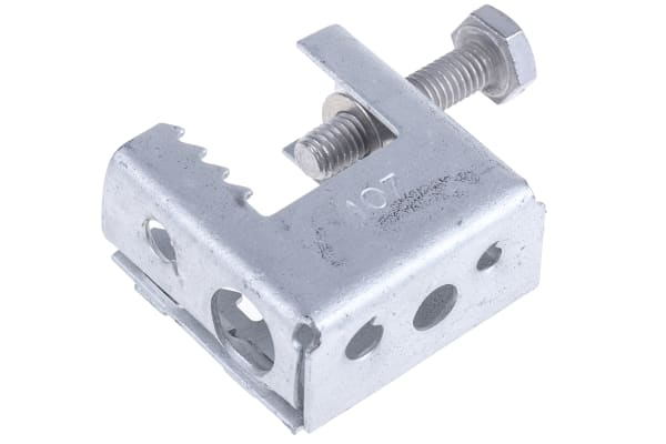 Product image for Flange fixing clamp,16mm flange 10mmhole