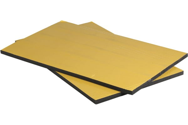 Product image for BLK POLYURETHANE SOUND ABSORPTION SHEET