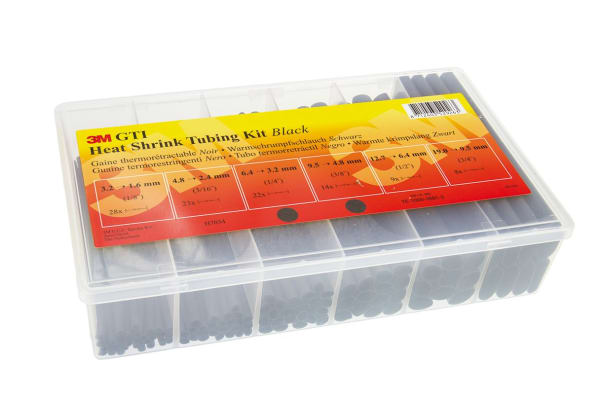 Product image for GTI-HEAT SHRINK KIT BLACK
