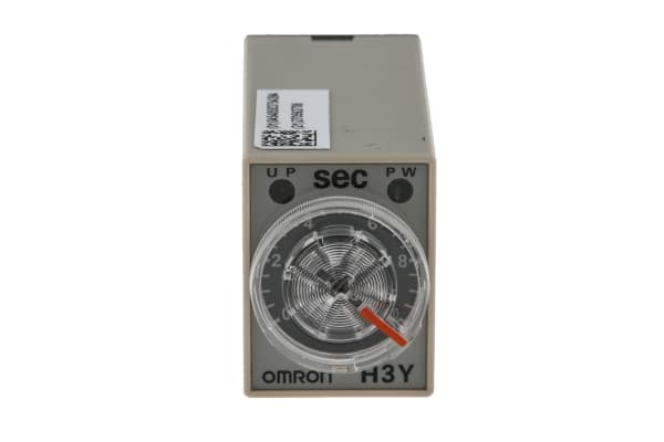 Product image for 4PDT min on delay timer,0.5-10sec 240Vac