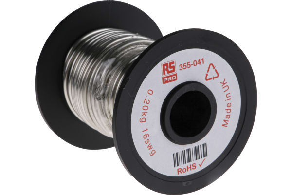 Product image for Tinned annealed copper wire,16swg 11.4m
