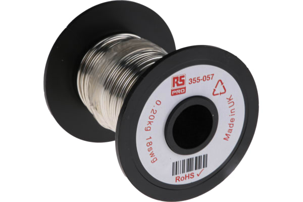 Product image for Tinned annealed copper wire,18swg 20.2m