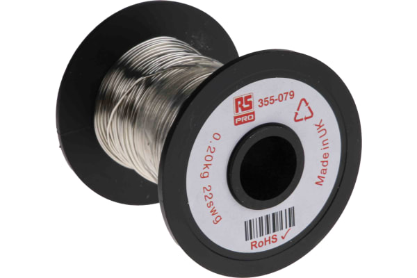 Product image for Tinned annealed copper wire,22swg 50.9m