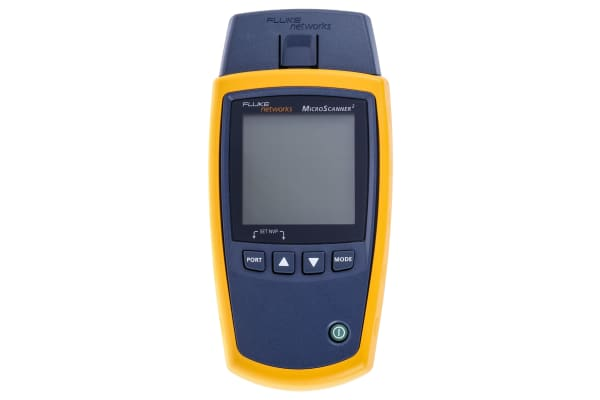 Product image for Fluke Networks Cable Tester Coaxial, RJ11, RJ45, MICROSCANNER 2 KIT