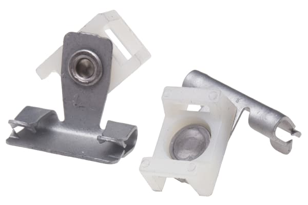 Product image for HORIZONTAL FLANGE CABLE TIE BASE,1.5-5MM