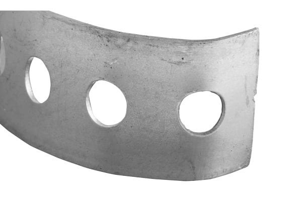 Product image for Steel perforated fixing strap,26mm W