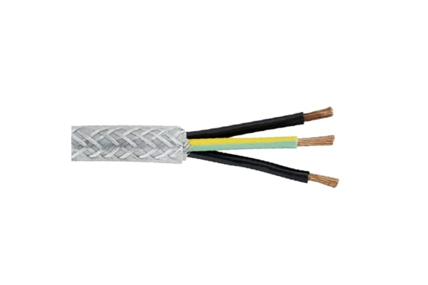 Product image for 3 core SY armoured mains cable,0.75sq.mm