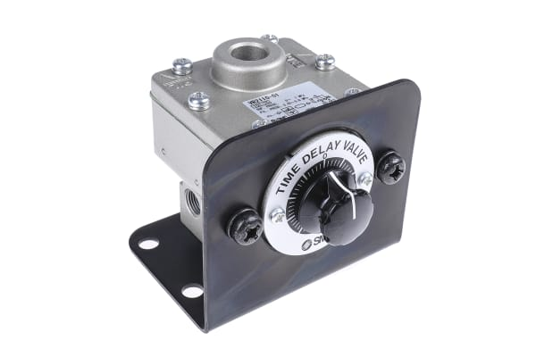 Product image for Time delay valve, pneumatic, 0.5-60s