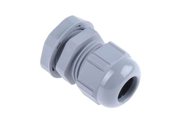 Product image for Cable gland, nylon, grey, PG13.5, IP68