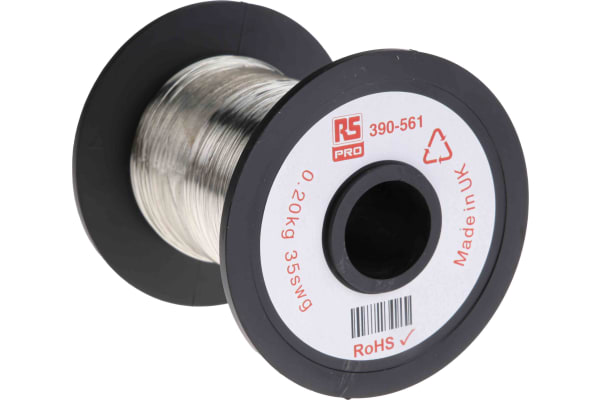 Product image for Tinned annealed copper wire,35swg 717m