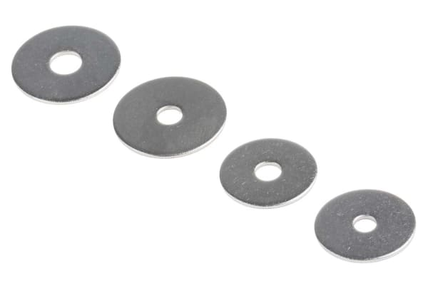Product image for A2 stainless steel mudguard washer kit