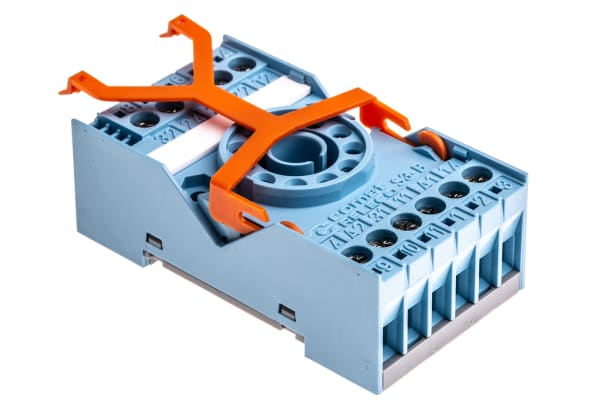 Product image for 11 PIN SOCKET FOR 10A DPCO PLUG-IN RELAY