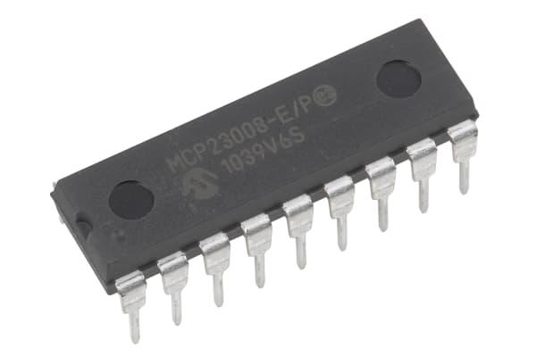 Product image for 8-bit I/O Expander,I2C,MCP23008-E/P
