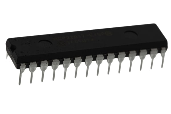Product image for 16-bit I/O Expander,I2C,MCP23017-E/SP