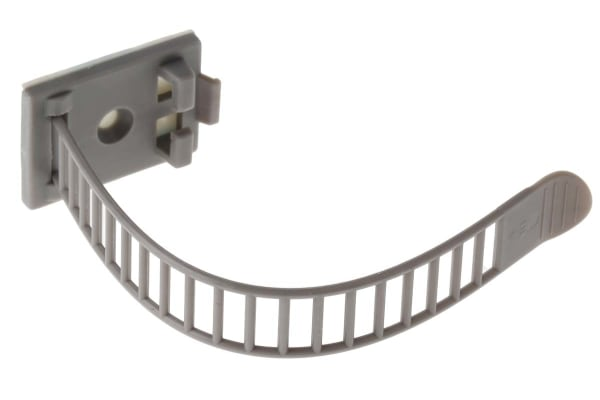 Product image for Adhesive Adjustable Cable Clip 108x21mm
