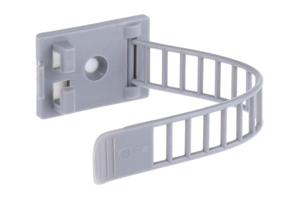 Product image for Adhesive Adjustable Cable Clip 90x21mm