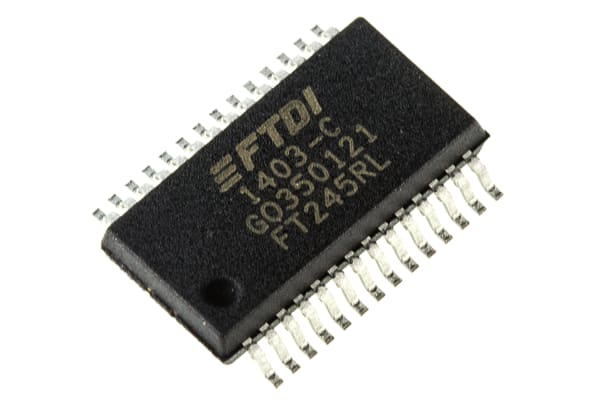 Product image for USB TO PARALLEL FIFO SSOP28 FT245RL