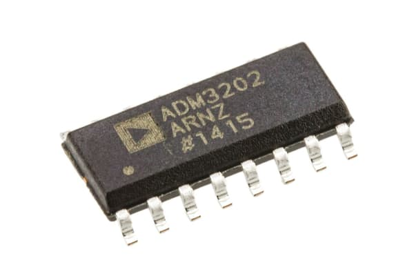 Product image for 3V RS-232 Transceiver ADM3202ARNZ