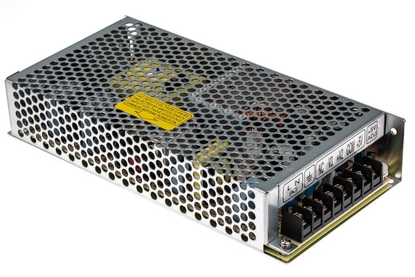 Product image for Power Supply,RT-125D,SMPS,5/24/12V,136W