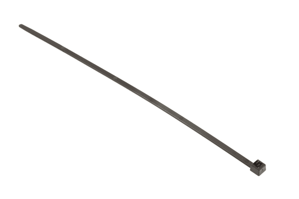 Product image for Black Releasable Cable Tie, 250x4.6mm