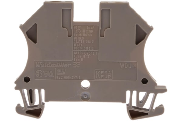 Product image for WDU 4 standard terminal,32A