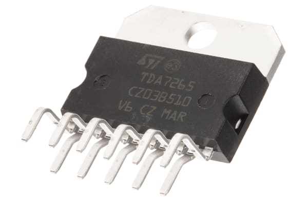 Product image for 25 + 25W Audio Amplifier W/Mute TDA7265