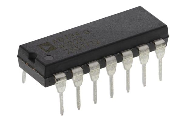 Product image for 10 MHz, 4-Quadrant Multi/Div, AD734BNZ