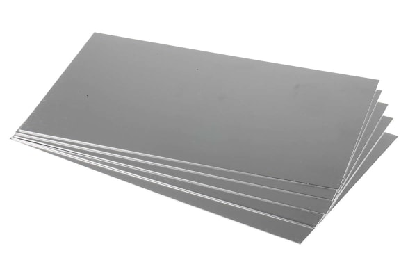 Product image for SIC 1050A Aluminium sheet,300x200x1.2mm