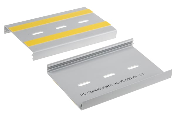 Product image for GREY PCB SUPPORT TRACK,160X100X7MM