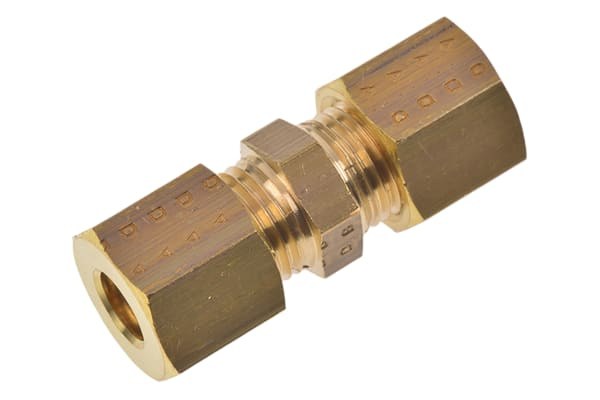Product image for EQUAL STRAIGHT COUPLING,6 X 6MM COMP