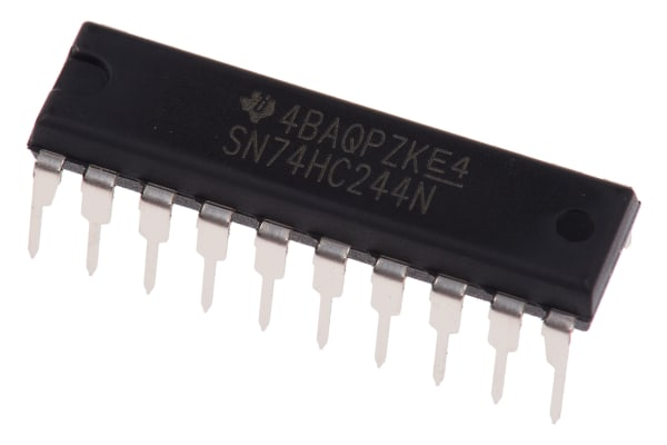 Product image for OCTAL BUFFER/LINEDRIVER,SN74HC244N DIP20