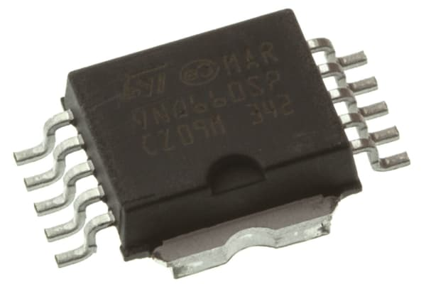Product image for 4Ch. Hi Side Solid State Rly, VNQ660SP