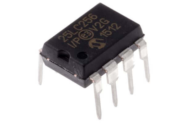 Product image for 256k,32K X 8 , 2.5V Serial EE  PDIP-8