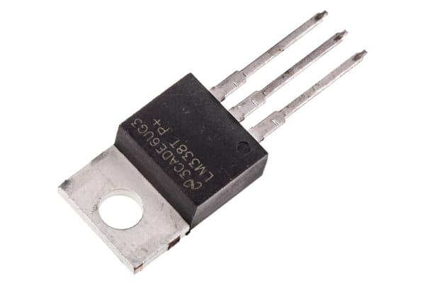 Product image for 5 AMP ADJUSTABLE REGULATOR  LM338T