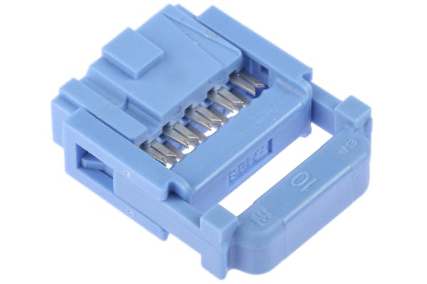 Product image for TE Connectivity 10-Way IDC Connector Socket for Cable Mount, 2-Row