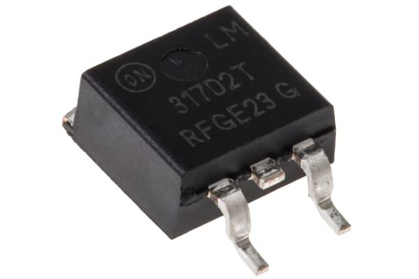 Product image for 1.5A, Adj Output, +ve V Reg, LM317D2TG