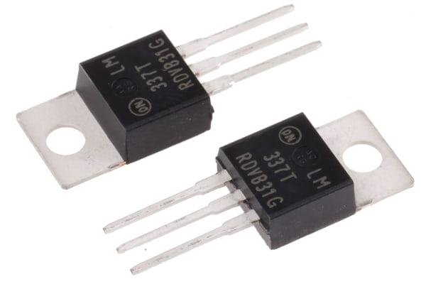 Product image for 1.5A, Adj Output, -ve V Reg, LM337TG