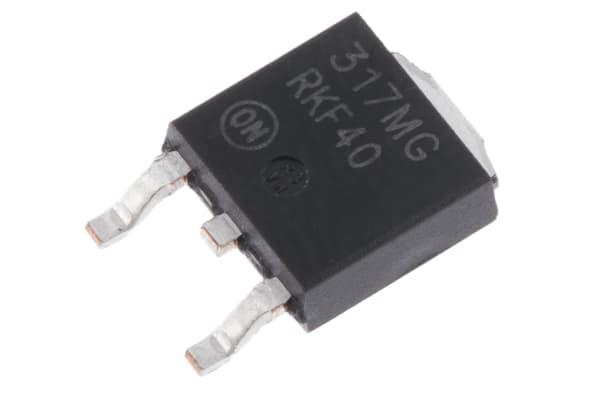 Product image for 500mA, Adj Output, +ve V Reg, LM317MDTG
