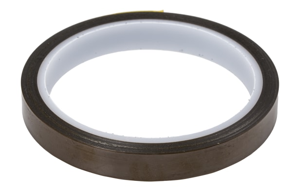 Product image for HI-BOND LOW-STAT POLYIMIDE TAPE 12MMX33M