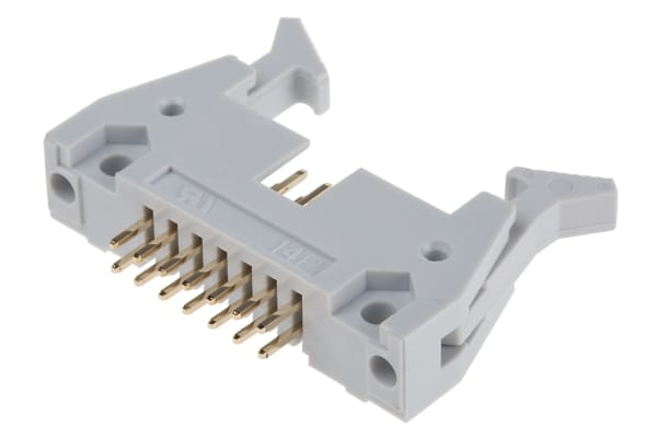Product image for 14 way universal straight plug,37.08mm L