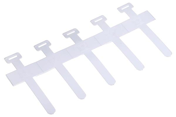 Product image for Aluminium self adhesive clip, 13mm dia