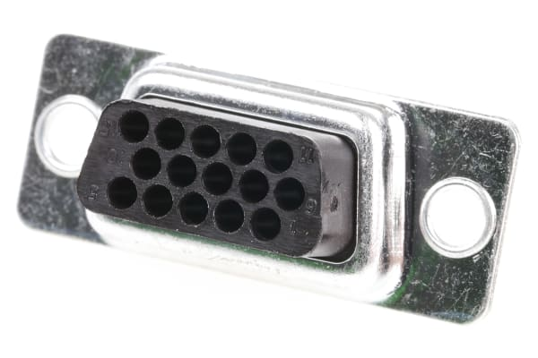 Product image for 15 way D socket housing