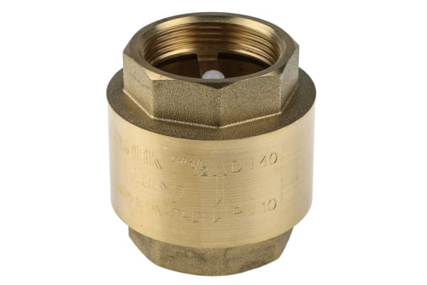 Product image for Spring loaded non return valve 1 1/2in
