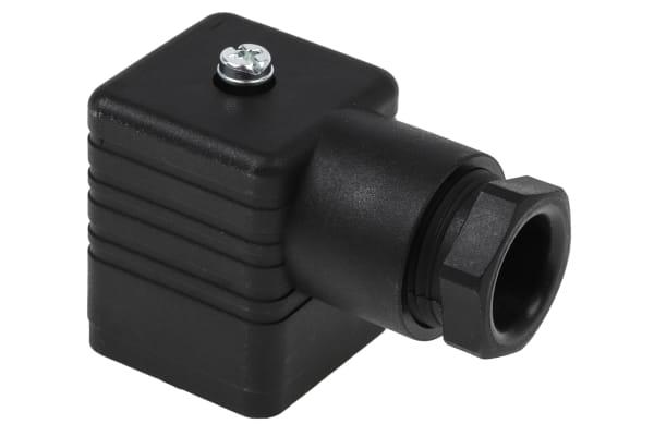 Product image for GDM  2P+E BLACK HOUSED SOCKET PG11