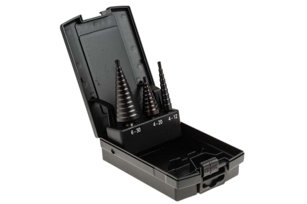 Product image for STEP DRILL HSS TIALN 412/420/630