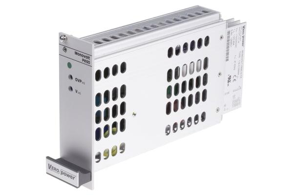 "Product image for 19"" SUBRACK SMPSU, PK60, 12VDC"