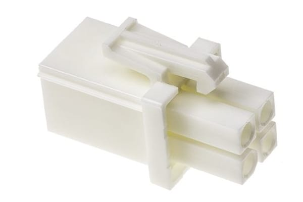 Product image for 4w Plug white UL 94 V-0 (splashproof)
