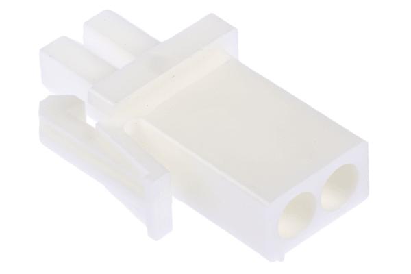 Product image for 2w Plug white UL 94 V-0 (splashproof)